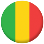 Mali Country Flag 58mm Mirror